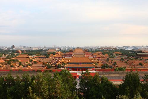 北京故宫博物馆_北京风景图片大全_乐乐简笔画