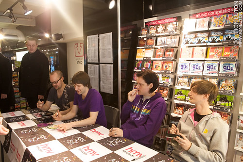 Ash at HMV Norwich