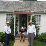 "President Hoover's Birthplace<a href=""http://farm5.static.flickr.com/4064/4543650973_0f9a0d2124_o.jpg"" title=""High res"">∝</a>"