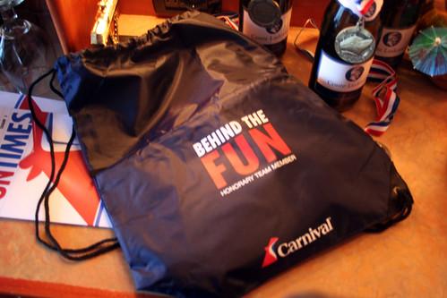 Carnival Spirit - Behind the Fun Tote Bag