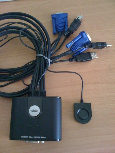 2-Port USB KVM Switch, ATEN CS22U