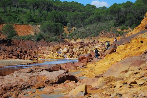 Río Tinto en Andalucía