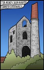 Lanner Twin Mine (Masonic Boom) Tags: cornwall ruin tinmine wheal enginehouse lanner carnmarth