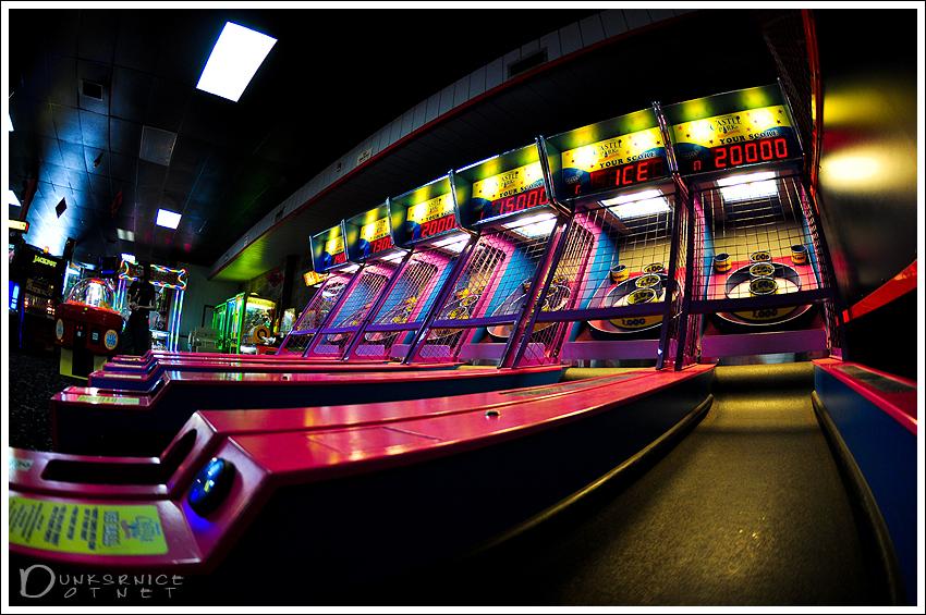 Skee Ball.