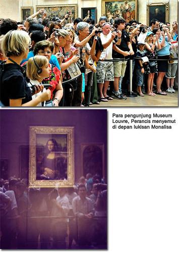pengunjung louvre, louvre museum, leonardo da vinci, renaissance, La Gioconda, La Joconde, Lisa del Giocondo