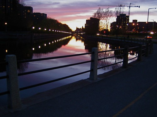 Sunset Rideau Canal