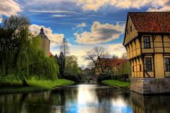 Steinfurt - Schloss Steinfurt Torhaus 09 (Daniel Mennerich) Tags: wonderworldgallery canon dslr eos hdr hdri spiegelreflexkamera slr