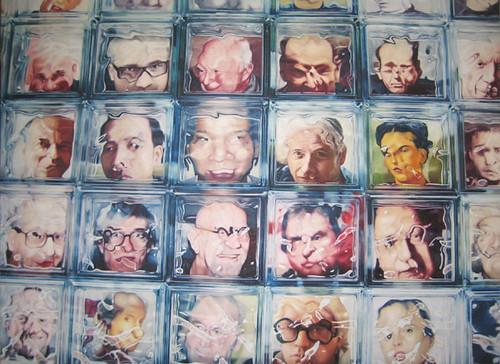 Face Value, oil on canvas, 200x280cm,2009