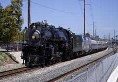 Santa Fe No. 3751 (San Bernardino Railroad Historical Society) (jbp274) Tags: railroad santafe station trains steam locomotive lagunaniguel atsf 3751