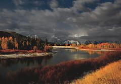 Me and God (P. Oglesby) Tags: autumn snow snakeriver grandtetonnp thehighlander godlovesyou coth oxbowbend mtmoran photocontesttnc10