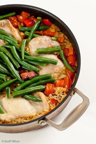 Chorizo & Chicken with Rice