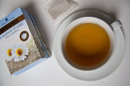 Camomile herbal tea by Twinings