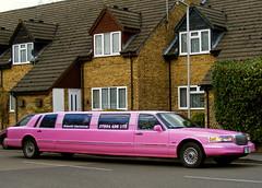 Pink limousine (picqero) Tags: pink cars transport entertainment luxury hertfordshire dragondaggerphoto dragondaggeraward