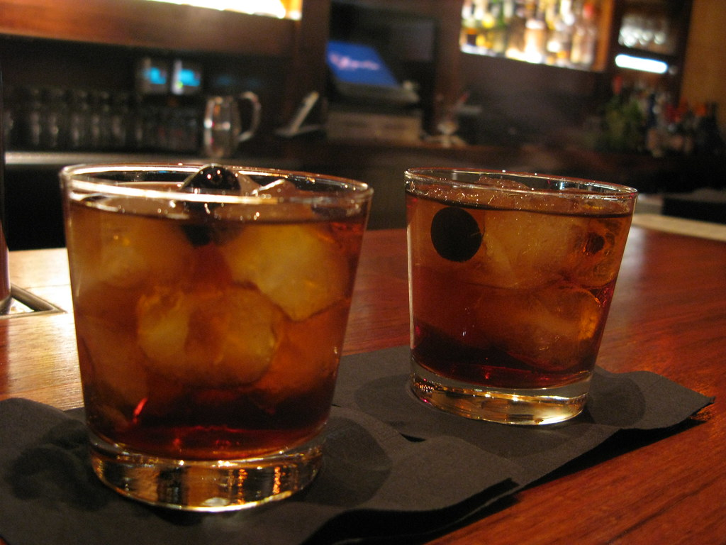 $5 Manhattans at Copa d'Oro by Caroline on Crack