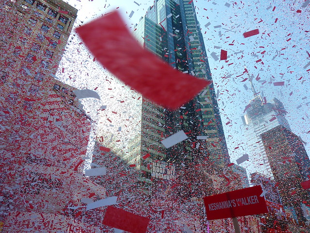 Revlon Run/Walk for Women, Times Sq, NYC by cpcwilli
