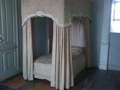 Bedroom at Castle Menzies