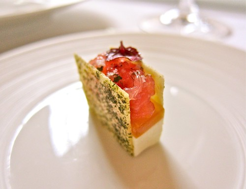 Tuna Tartare and Bonito Croquant