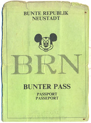 Bunte Republik Neustadt - BRN-Pass 1991