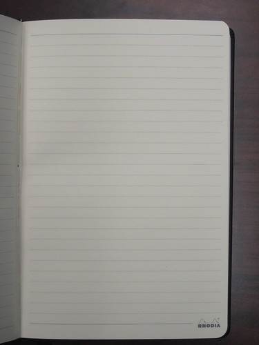 Rhodia Webnotebook page