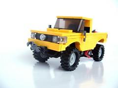 Pickup (pitrek02) Tags: truck town 4x4 pickup technic baja dakar trial 1000 moc lugpol