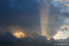 Inner Turmoil (Lee Rudd Photography) Tags: england sky cloud dusk devon pick sunray okehampton