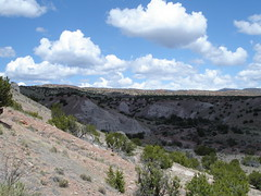 Plaza Blanca (rosinberg) Tags: newmexico nature landscape hoodoos abiquiu rockformations georgiaokeefe whiterocks plazablanca northernnewmexico