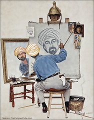 Mohammad Drawing Mohammad