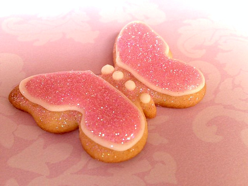 butterfly cookie filled