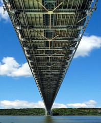 [フリー画像] 建築・建造物, 橋, アメリカ合衆国, ニューヨーク, HDR, 201005100500