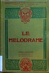 Cover of Le Mélodrame