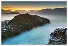 Fingal Head Twilight (dtmateojr) Tags: longexposure sea cliff cloud seascape sunrise landscape twilight nikon rocks waves austra