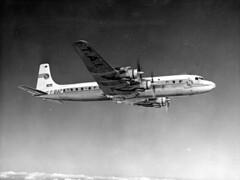 Douglas : DC-7C (San Diego Air & Space Museum Archives) Tags: aviation aeronautics sdasm