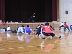 And stretch! (Shirokawa_Sara) Tags: trampoline sword ehime hiyoshi kihoku