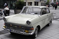 Opel Rekord P2 1700 (Michael Dring) Tags: bochum altstadt d300 afs2470 michaeldring bongardstrase opelrekordp21700 11bochumeroldtimermeile
