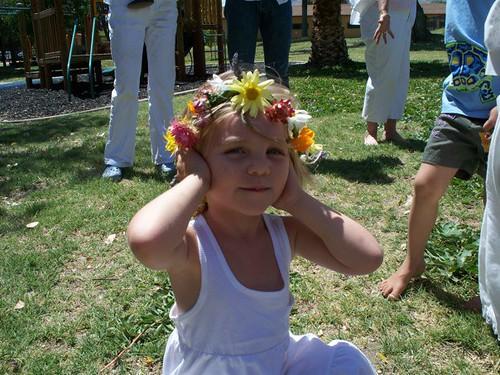 a little flower girl big