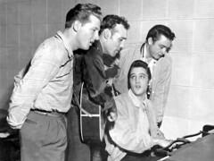 Elvis,Johnny,Carl,Jerry in Memphis Sun Studio ...