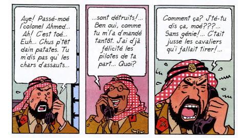 Tintin en joual