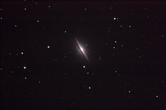 The Sombrero Galaxy (gainesp2003) Tags: spiral space telescope galaxy astrophotography astronomy sombrero m104