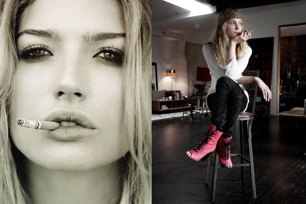 Chloe Bello, Erin Wasson by Dan Martensen