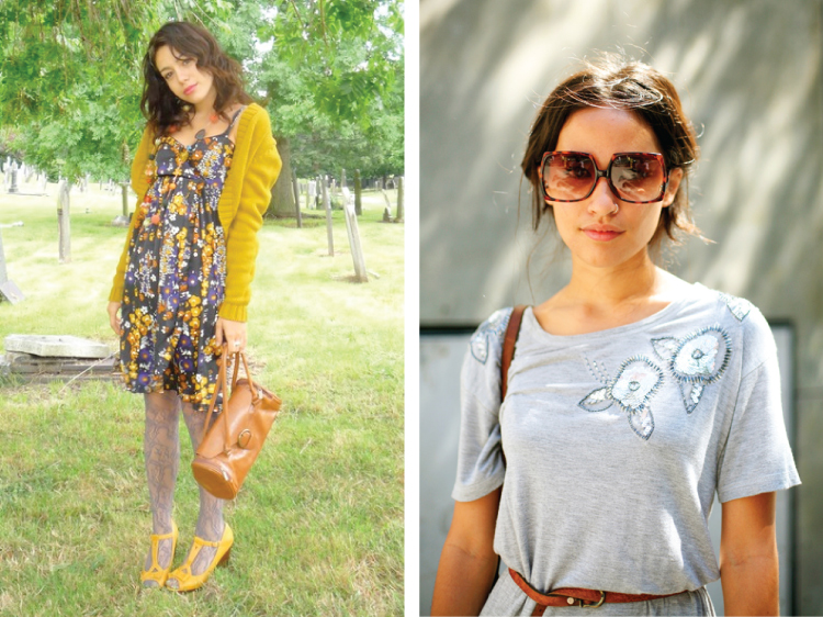 Grey and Yellow Fashion