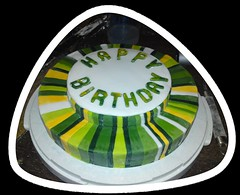 Streifen- Torte (Tortenwahn) Tags: marzipan streifen fondant gebäck süs buttercreme motivtorte mottotorte mottotorten