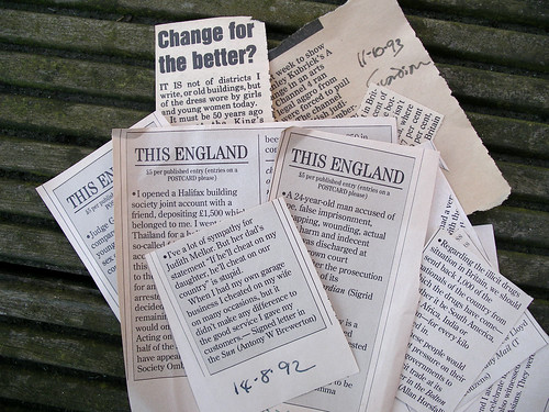 'This England' clippings