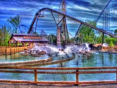 Cedar Point - Shoot the Rapids HDR