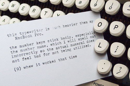 Manual Typewriter Tweets 03