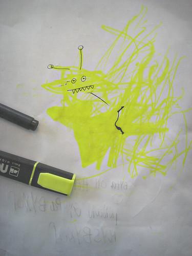 gult monster