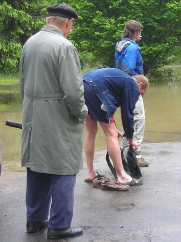 2 Zakole Wisly po powodzi