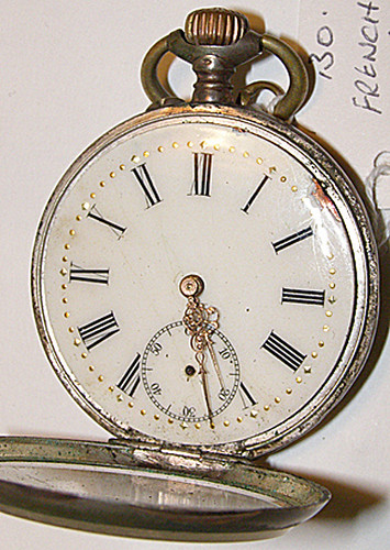 Pocket watch with French inscription