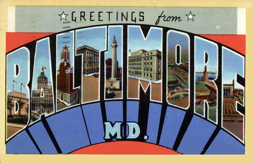 Postcard BALTIMORE