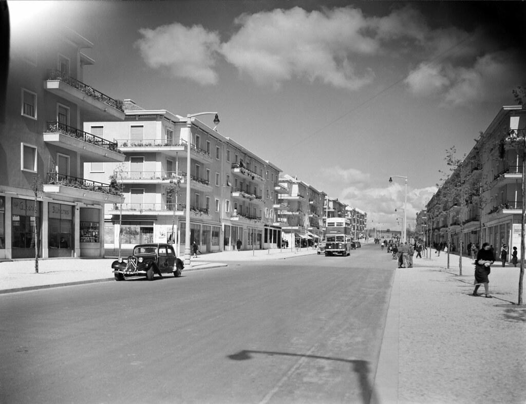 Av. da Igreja, Lisboa (H. Novais, ante 1955)