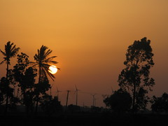 Disappearance (Sharanbm) Tags: sunset gadag basavaraj sharana sharanbm soratur